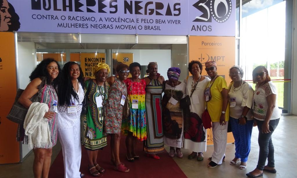 Docentes e discentes da UFT participam do Encontro Nacional de Mulheres Negras