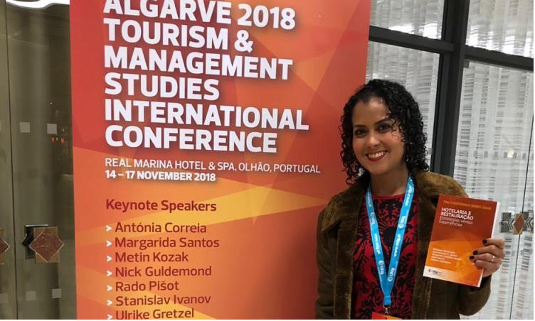 Docente de Arraias participa de evento internacional de Turismo