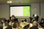 Palestrantes fizeram um relato das experiências no mercado para os estudantes (Foto: Bárbara Freitas/Divulgação)