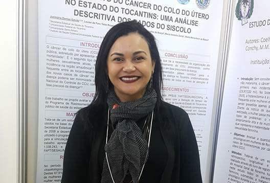 Servidora da UFT pesquisa sobre Câncer de Colo de Útero no Estado