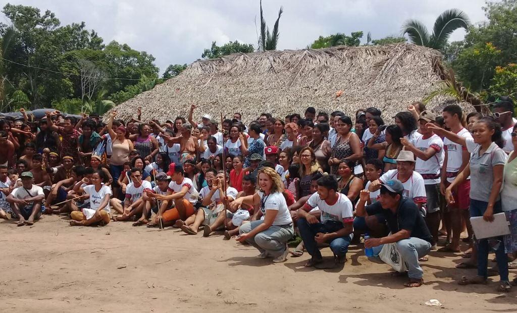 Aldeia Indígena reúne curso de Educação no Campo de Tocantinópolis