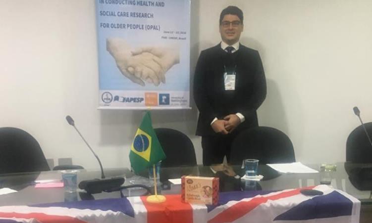 Coordenador da UMA participa de evento internacional em SP