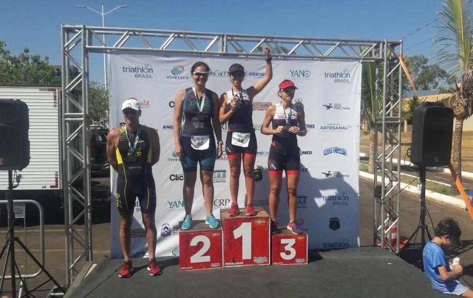 Triatleta da UFT conquista primeiro lugar na Copa Centro-Oeste
