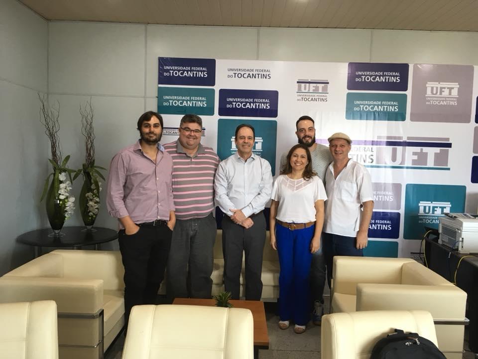 Bovolato se reúne com presidentes dos Institutos de Pesquisa e Extensão.