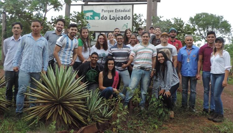 Alunos de Gurupi visitam o Parque Estadual de Lajeado