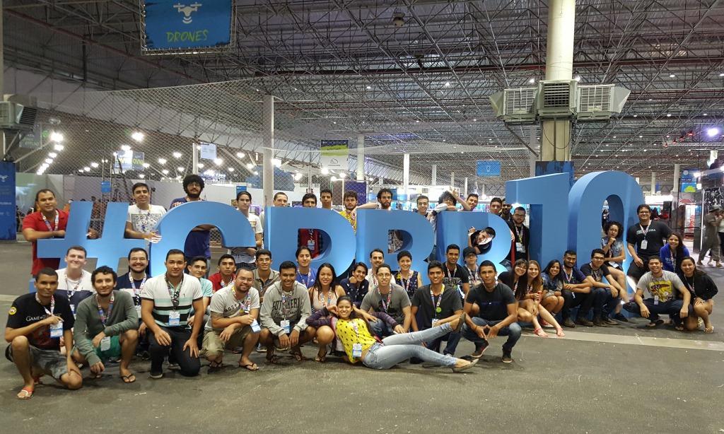 Alunos de Ciência da Computação participam da Campus Party Brasil